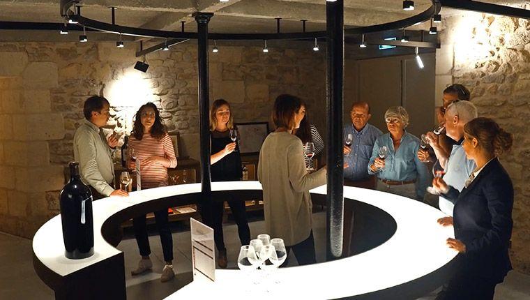 Dégustation de vins Medoc